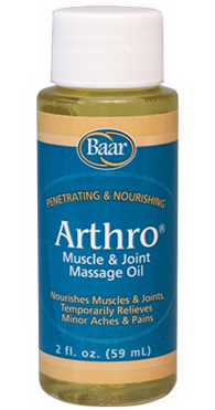 Arthro Muscle and Joint Massage Lotion 2 oz from Baar