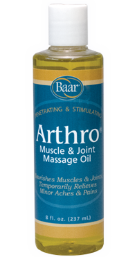 Arthro Muscle and Joint Massage Lotion 8 oz from Baar