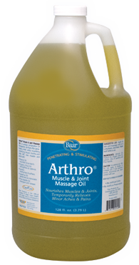 Arthro Muscle and Joint Massage Lotion Gallon from Baar
